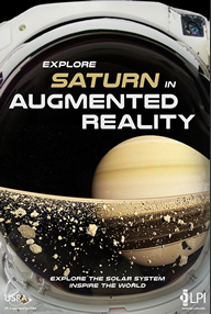 Explore Saturn in Augmented Reality