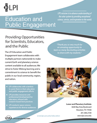 Education and Public Engagement