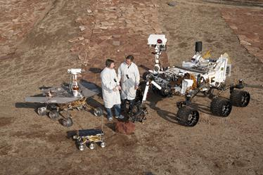 Scientists with 3 generations of NASA's Mars rovers
