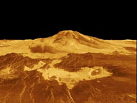 Maat Mons on Venus