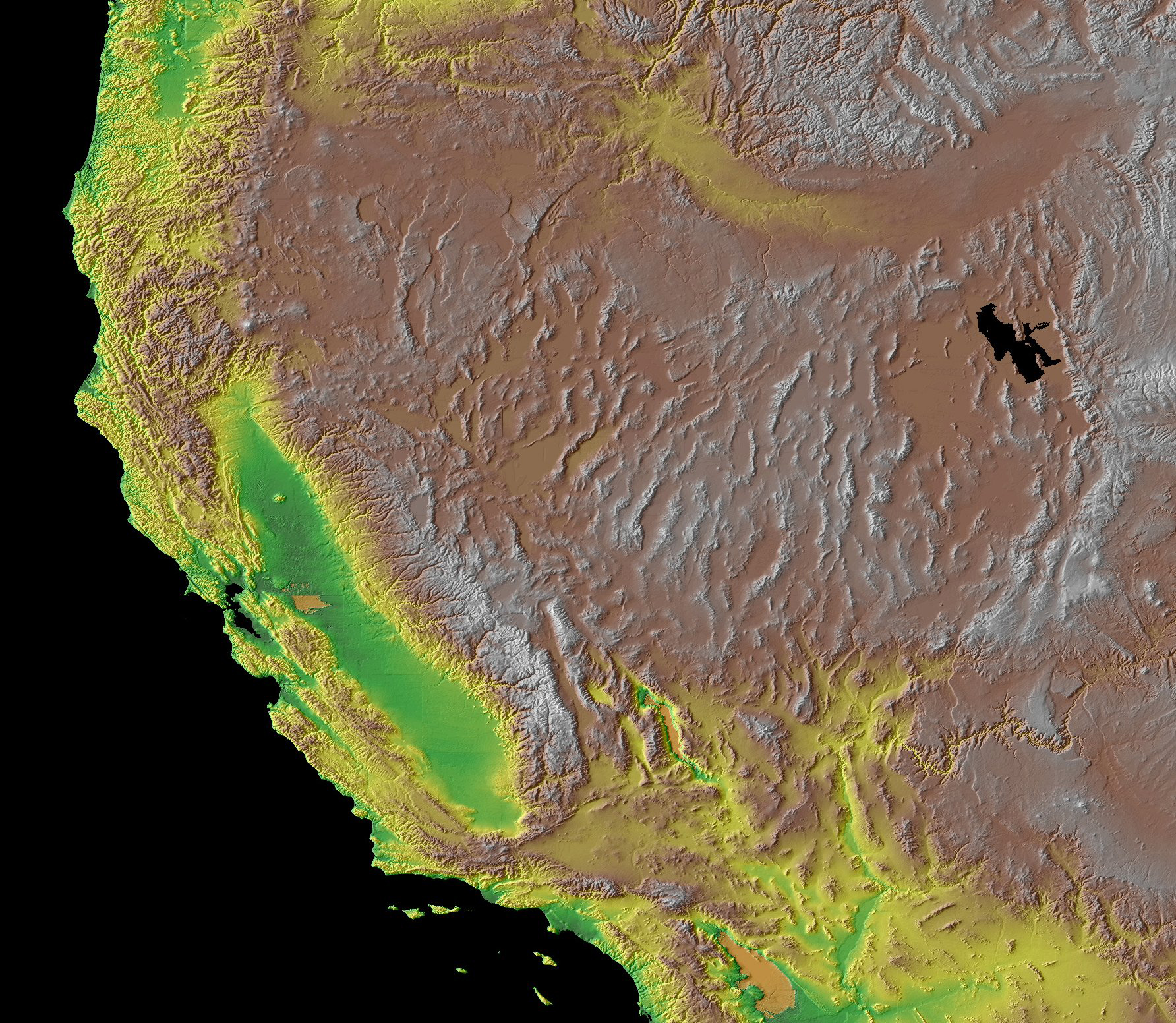 Topographic Map Of Southwest Us Earth's Extremophiles: Implications for Life in the Solar System