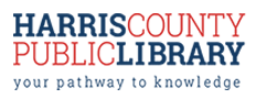 Harris County Public Library logo
