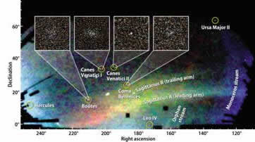 New Dwarf Galaxies Discovered Orbiting Milky Way