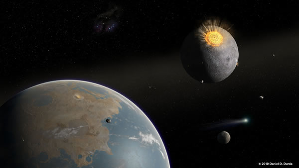 impact cratering on the hadean earth