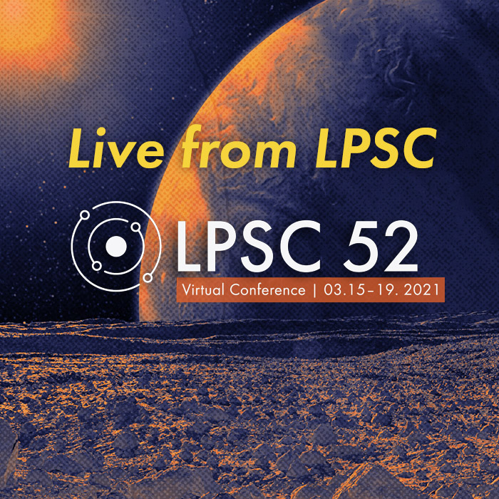 Live from the Lunar and Planetary Science Conference