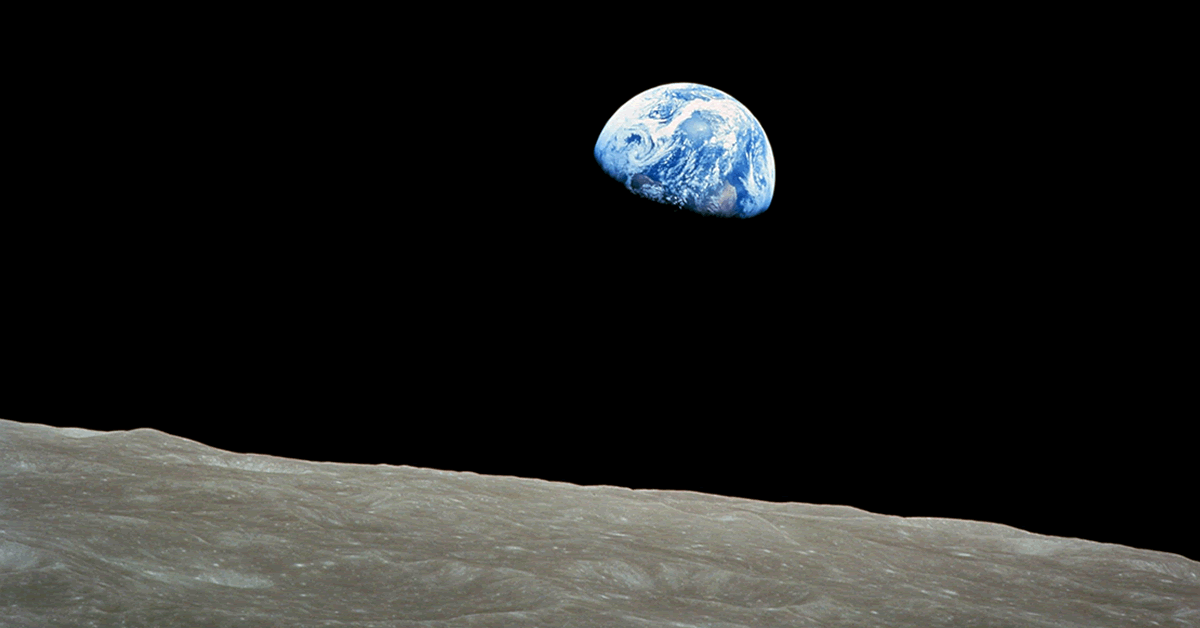 Earth Day and Lunar Exploration