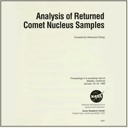 Workshop on the Analysis of Returned Comet Nucleus Samples