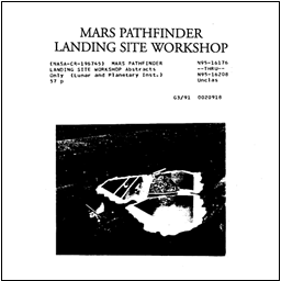 Mars Pathfinder Landing Site (MESUR) Workshop