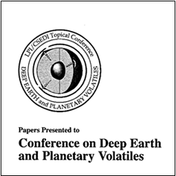 Conference on Deep Earth and Planetary Volatiles