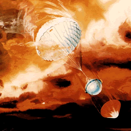 Galileo probe at Jupiter