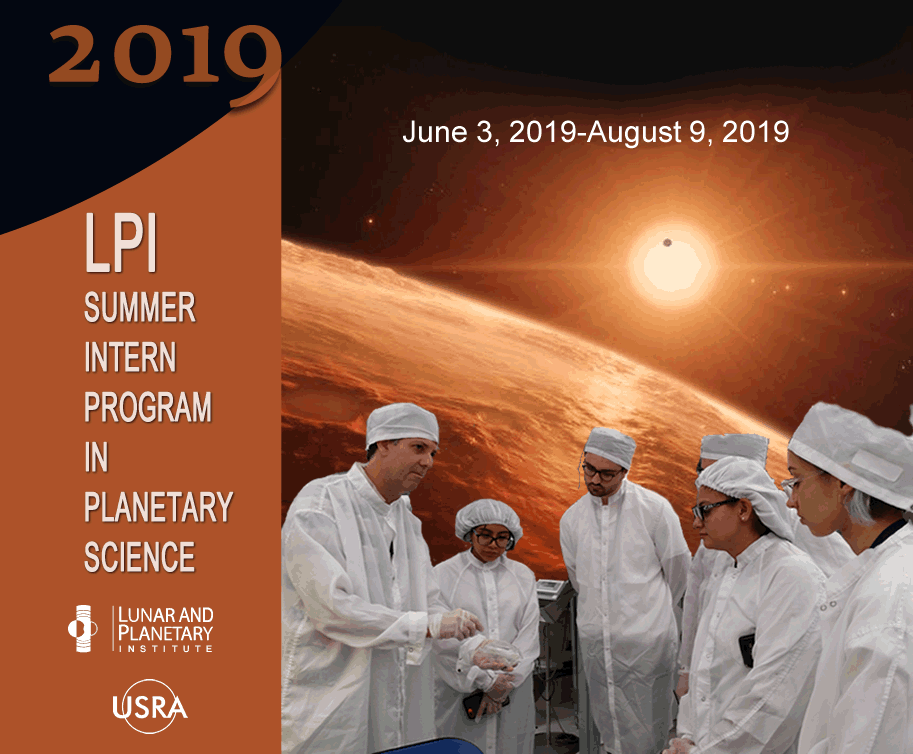 Image result for LPI Summer Intern Program in Planetary Science