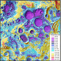 Near-Surface Temperatures Modeled for the Moon's South Pole