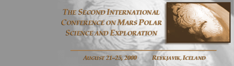 Second Conference on Early Mars
