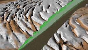 Mars North Polar Layered deposits