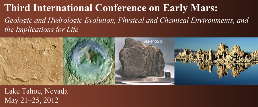 Third Conference on Early Mars
