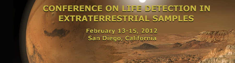 Conference on Life Detection in Extraterrestrial Samples
