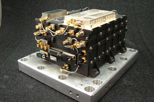 This radio hardware, the Electra UHF Transceiver on NASA's MAVEN mission to Mars, is designed to provide communication relay support for robots on the surface of Mars. Image Credit: NASA/JPL-Caltech.