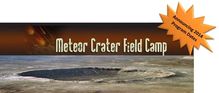 meteor crater field camp