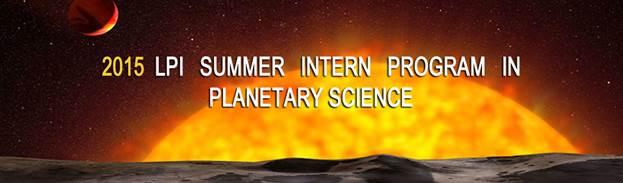 LPI Summer Intern