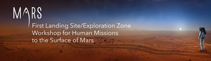mars Landing site workshop