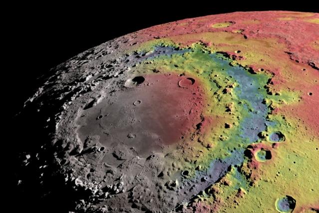Crédito de la imagen: Ernest Wright, NASA/GSFC Scientific Visualization Studio.