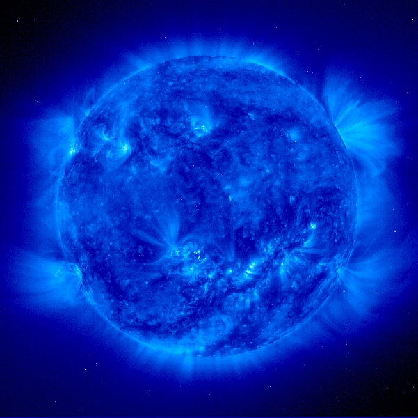 Image credit: Solar and Heliospheric Observatory (ESA and NASA)