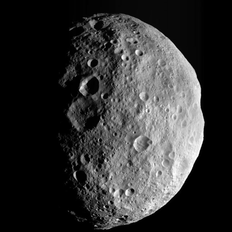 Crédito de imagen: NASA / JPL-Caltech / UCLA / MPS / DLR / IDA