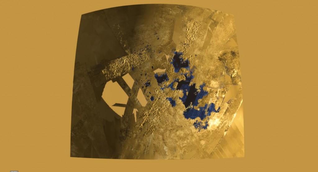 Titan's seas and lakes