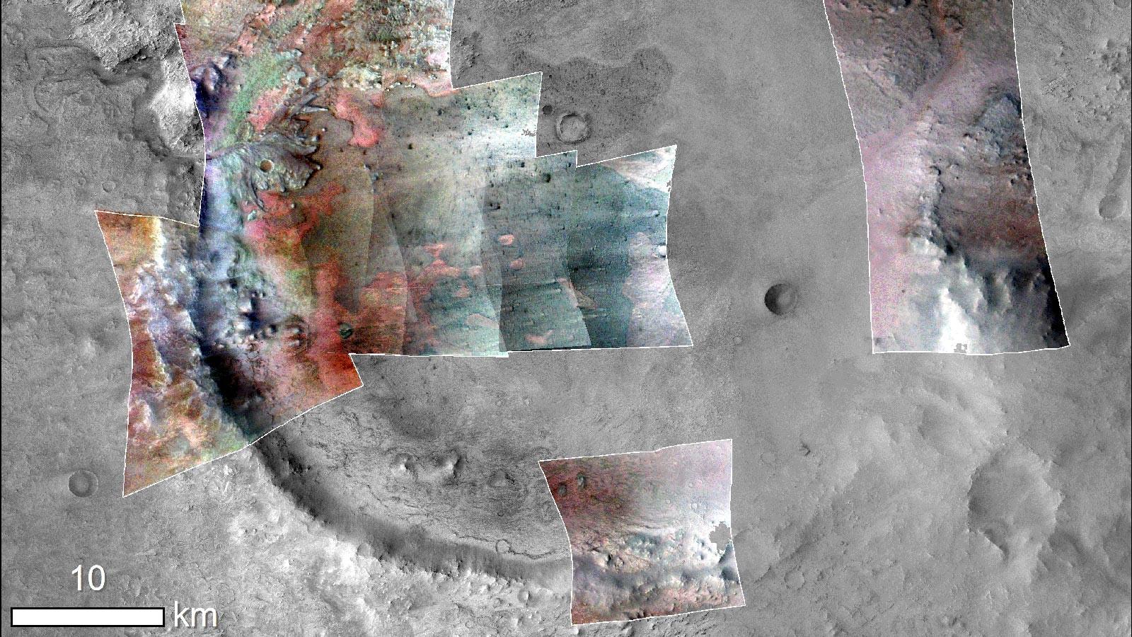 Crédito de la imagen: NASA / JPL-Caltech / MSSS / JHU-APL / Purdue / USGS.