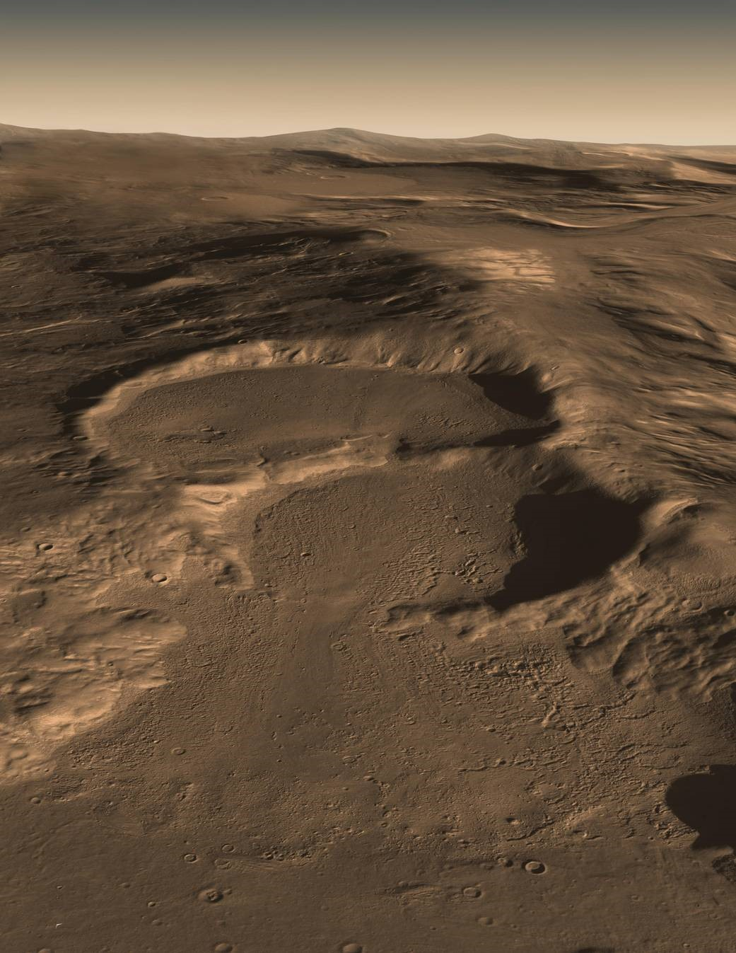 Crédito de la imagen: NASA / JPL-Caltech / UTA / UA / MSSS / ESA / DLR / JPL Solar System Visualization Project.
