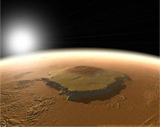 Crédito de imagen: NASA / MOLA Science Team / Olivier de Goursac y Adrian Lark