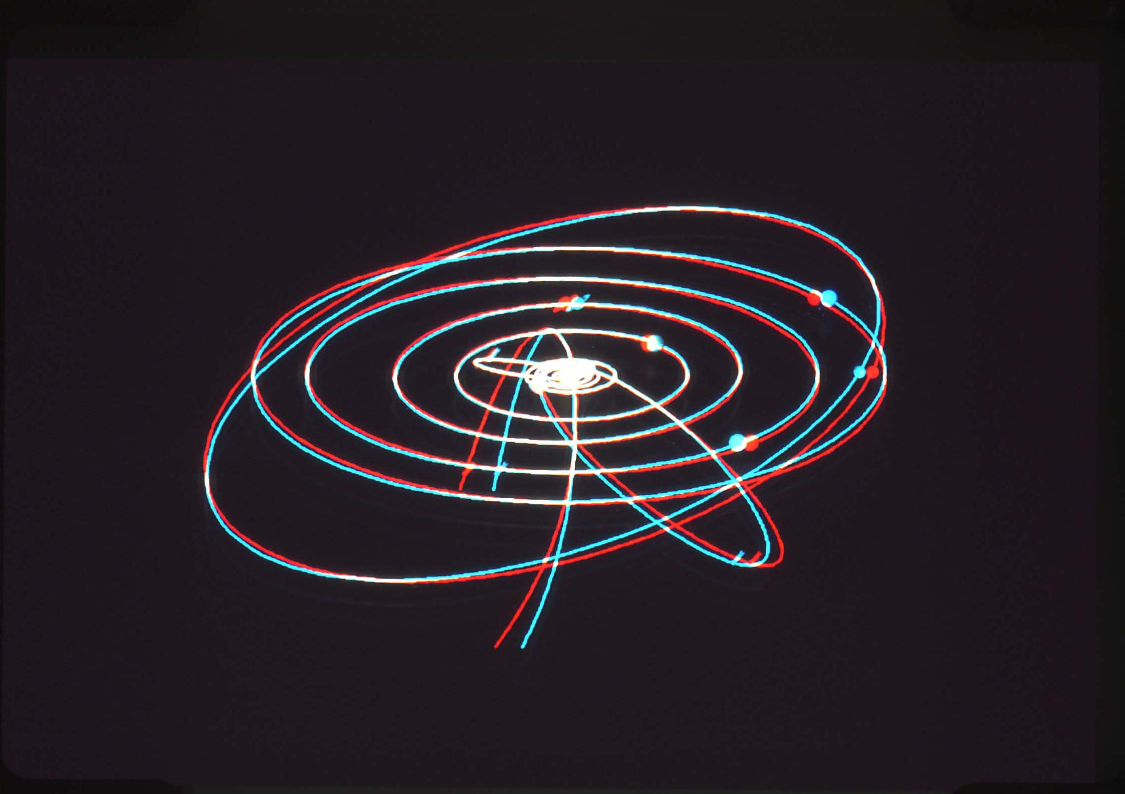 solar system orbits 3d - photo #3