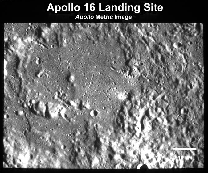 13. Apollo 16 Site (Metric Photo View)