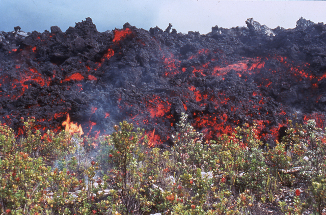 A'a Lava Flow, Hawaii