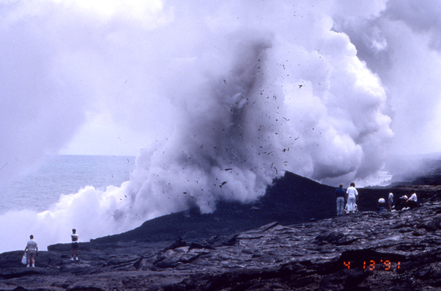 Lava-Sea Interactions, Kilauea, Hawaii