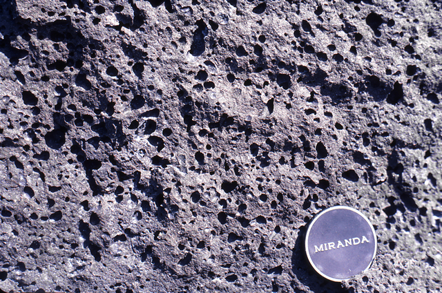 Vesicular Volcanic Rock, Hawaii