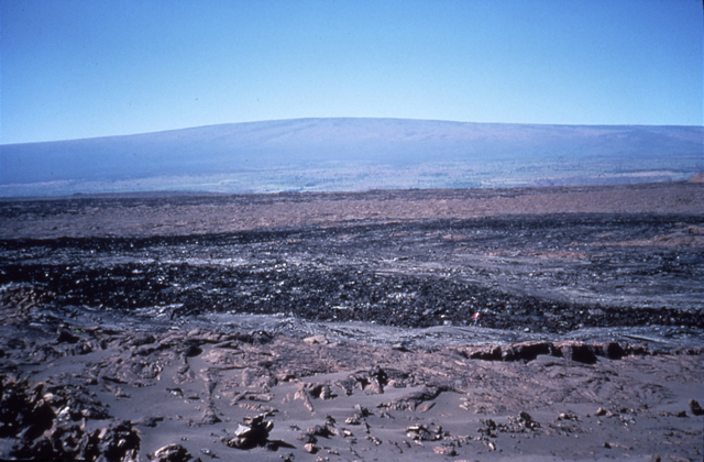 27. December 1974 Lava Flow, Kilauea, Hawaii