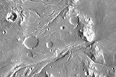 Outflow Channels of Chryse Planitia