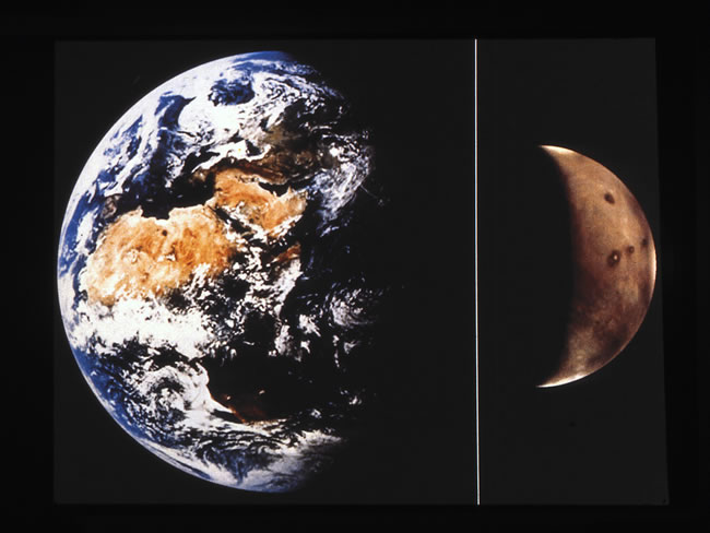 1. Earth-Mars Comparison