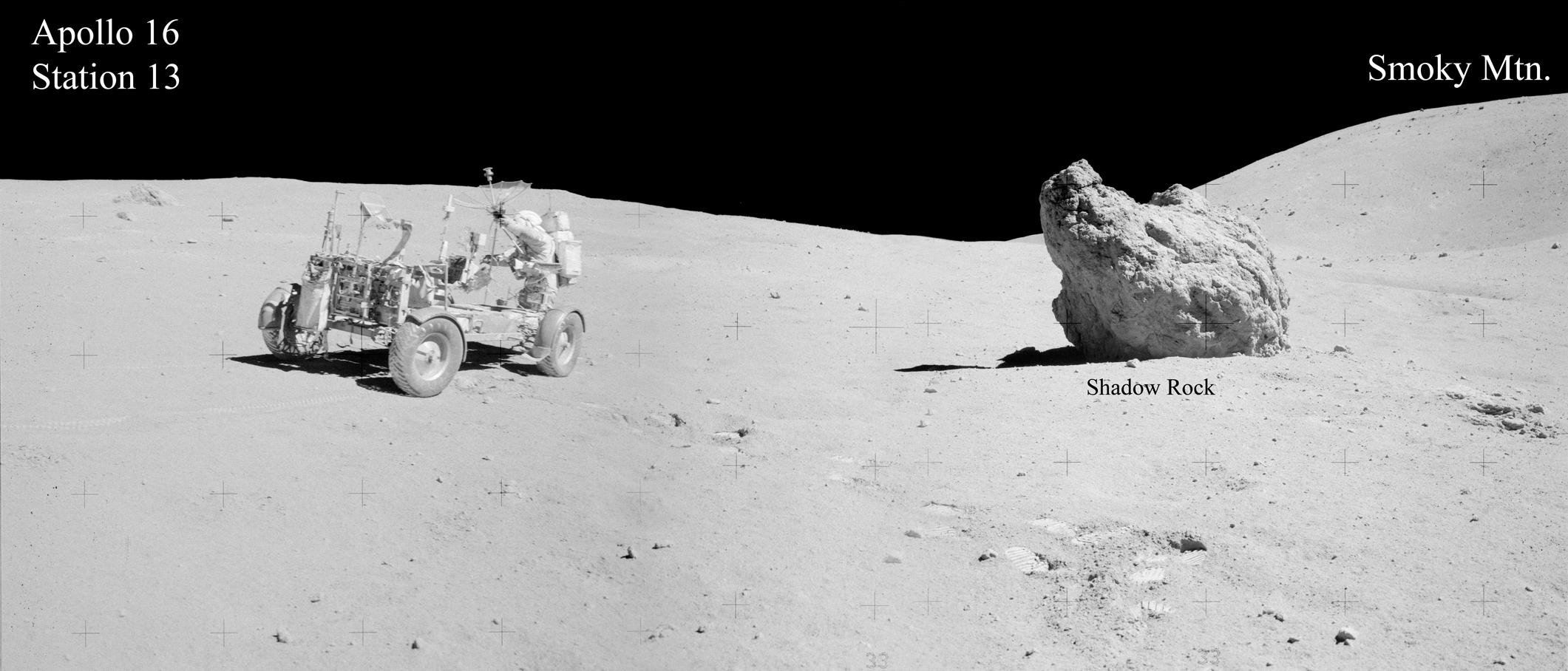Apollo Surface Panoramas As16 106 17390 As16 106 17394
