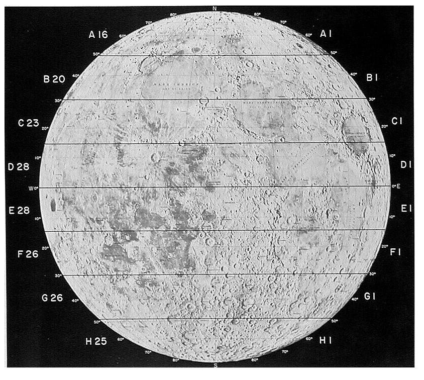 Consolidated Lunar Atlas