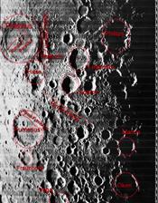 Cráter Petavius - Lunar Orbiter