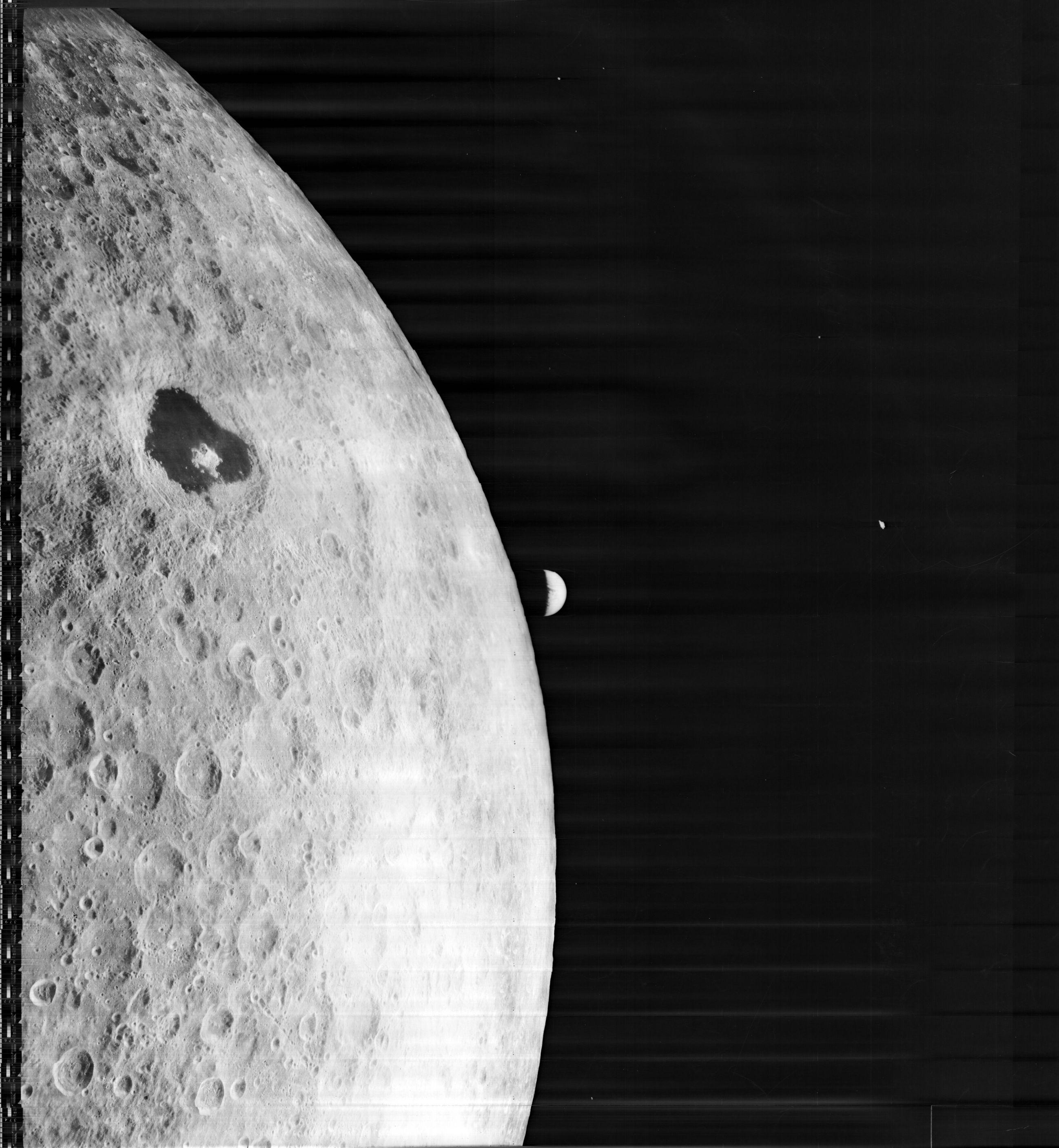moon shots of earth and mars - photo #43