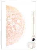 Sheet 1 - Topographic Lunar Map