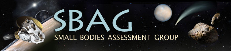 Small Bodies Assessment Group (SBAG)