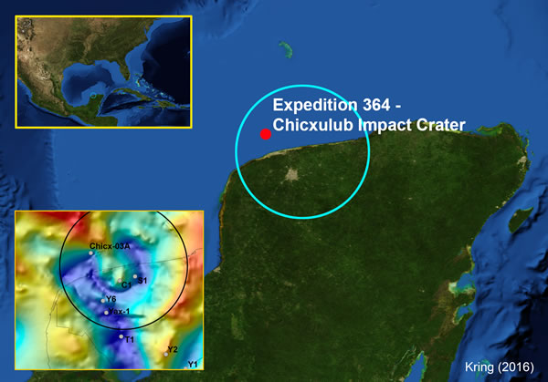 Chicxulub Drilling Site 2016