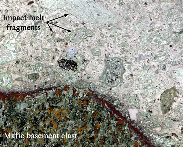Chicxulub Polymict Breccia in the Yaxcopoil-1 Borehole