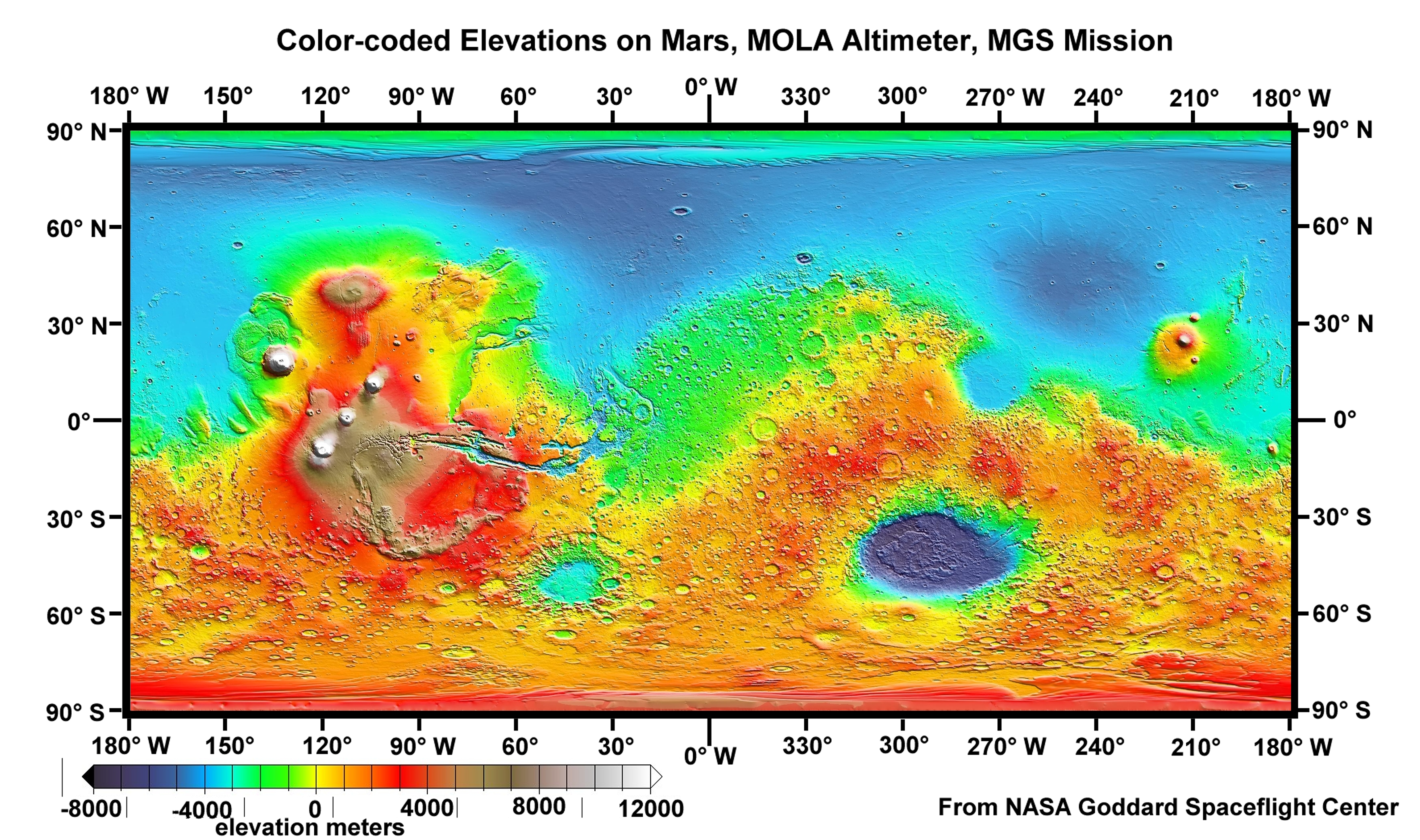 Great Desert = Mars Maps 1