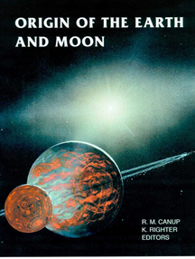 Origin of the Earth and Moon cover
